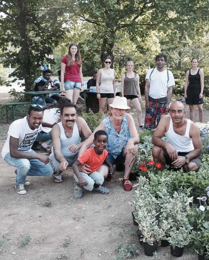 Nutzgarten für Flüchtlinge