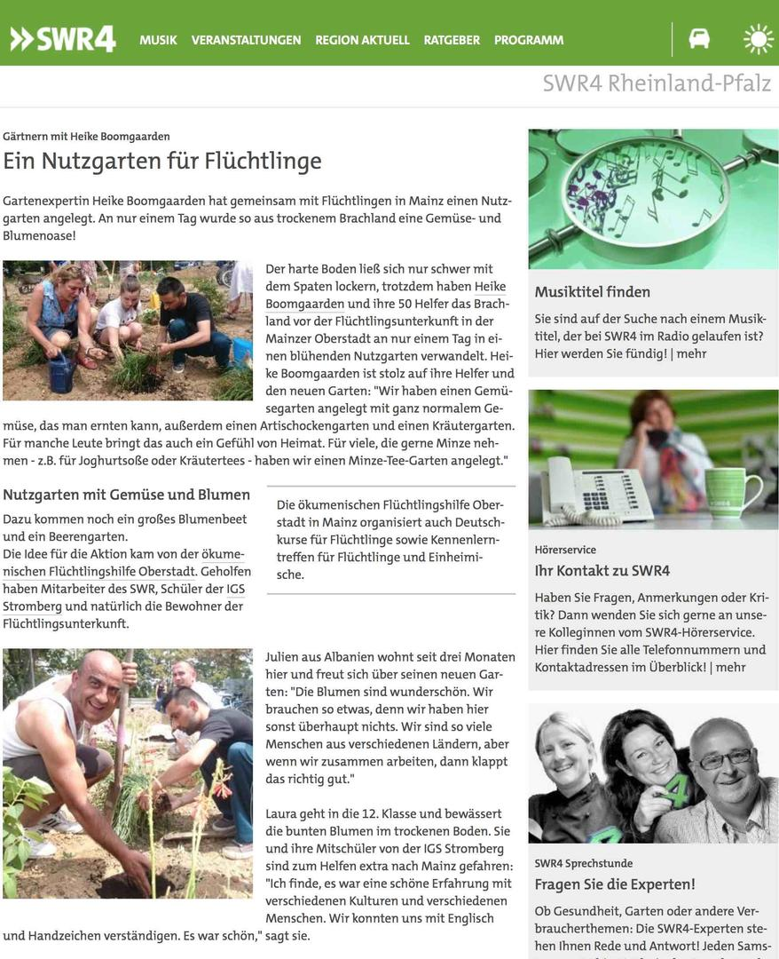 SWR4_Christian Bongers / Webfassung: Inga Liebe