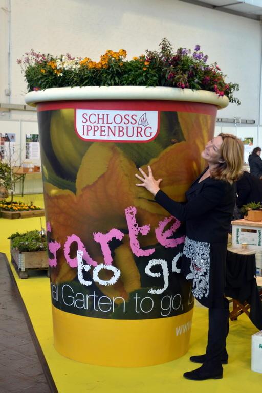 """""""Garten to go"""" wir verbinden Kunst und Garten =Garten-Kultur"""