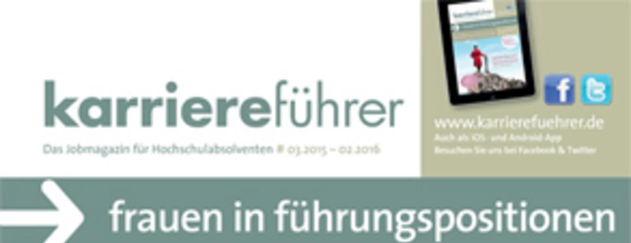 Cover-karriereführer frauen in führungspositionen 2015.2016