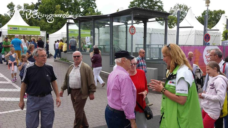 """""""mobile Gartensprechstunde"""" beim SWR Somerfest in Mainz"""